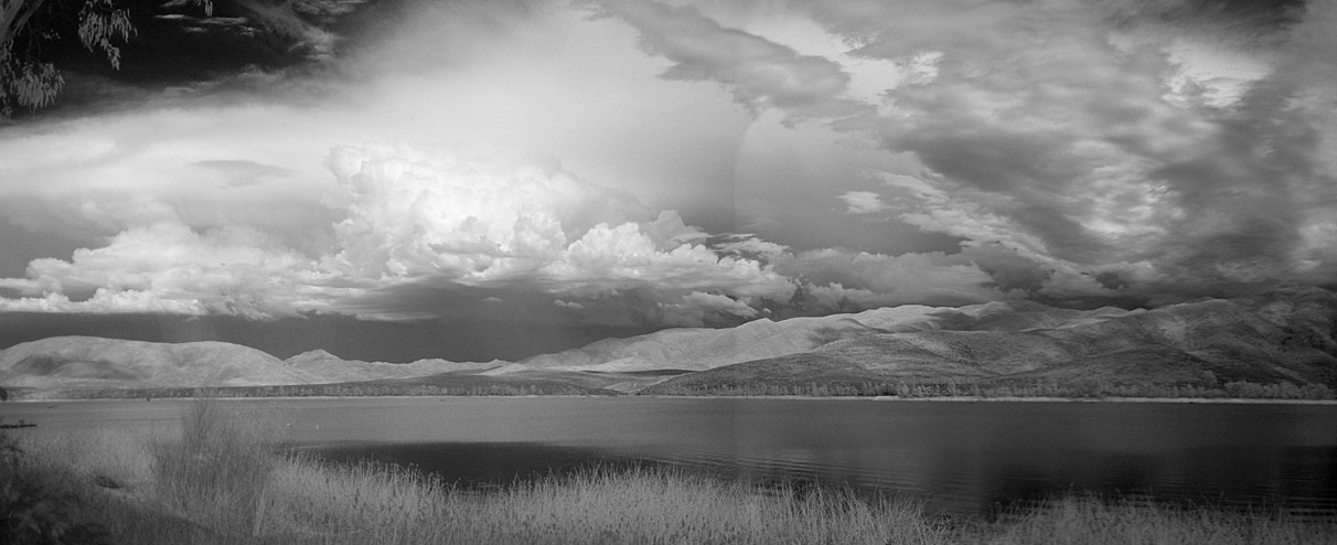 Attempt at Infrared Panorama Shot for Otay Lakes Website